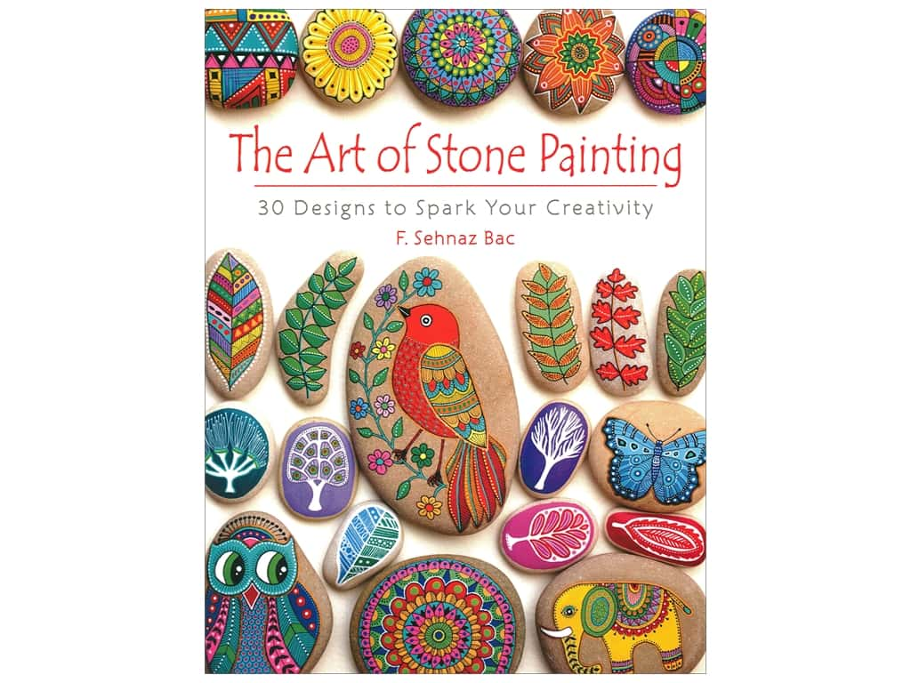 Dover Publications The Art of Stone Painting Book