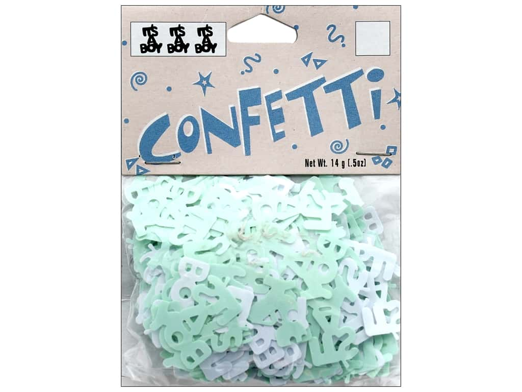 Darice Confetti Pack It's A Boy .5 oz.