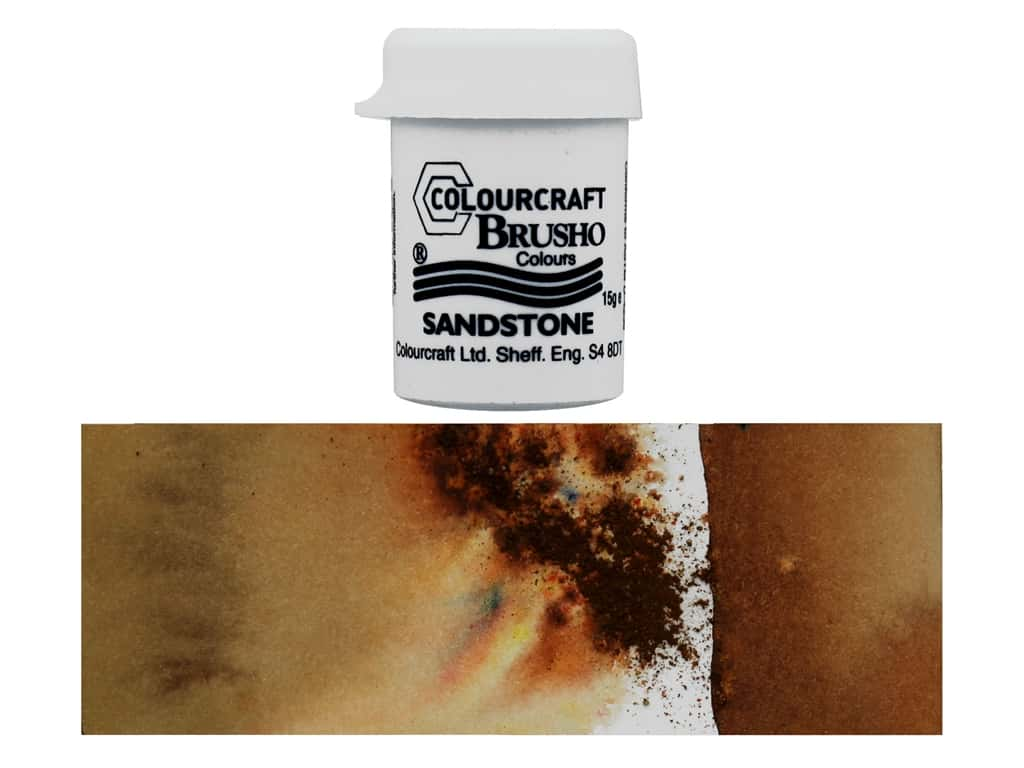 Colourcraft Brusho Crystal Colour 15 gr Sandstone
