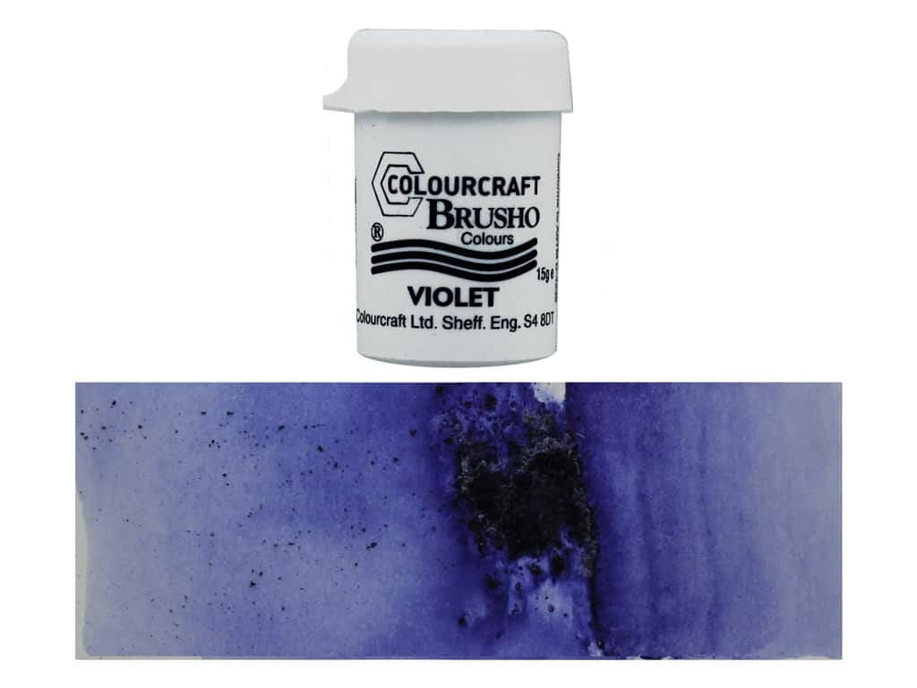Colourcraft Brusho Crystal Colour 15 gr Violet