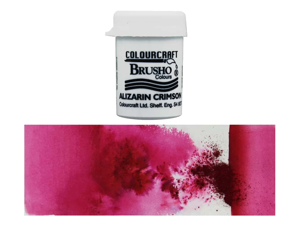Colourcraft Brusho Crystal Colour 15 gr Alizarin Crimson