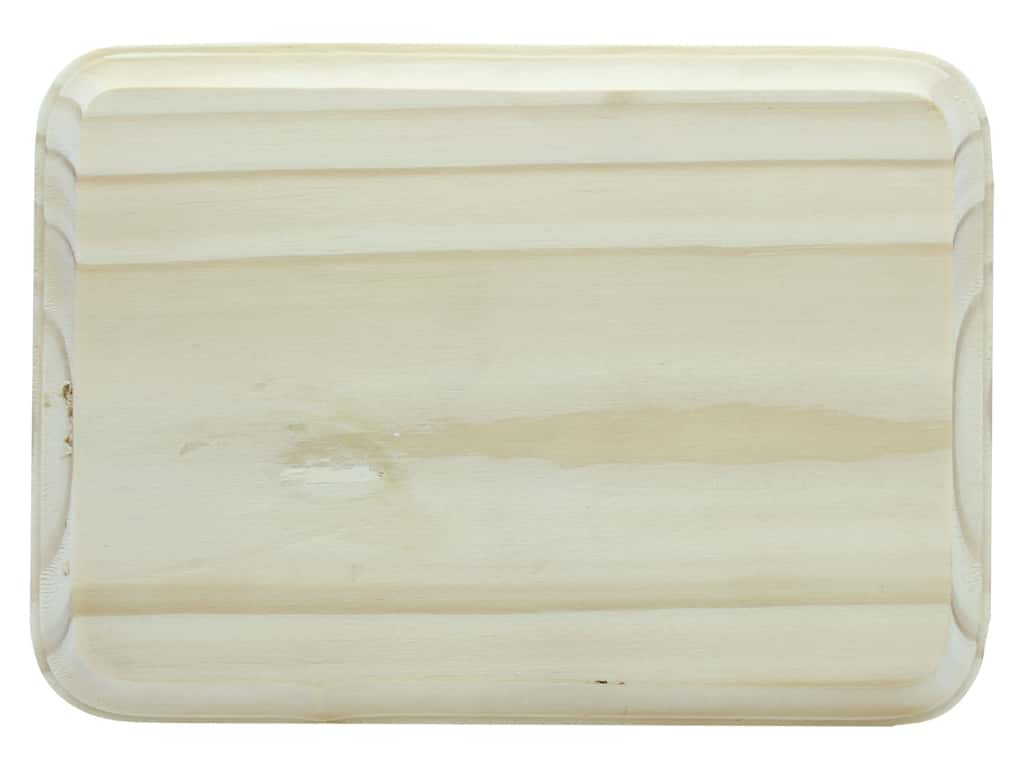 Darice Wood Plaque Rectangle Unfinished 5 in. x 7 in.