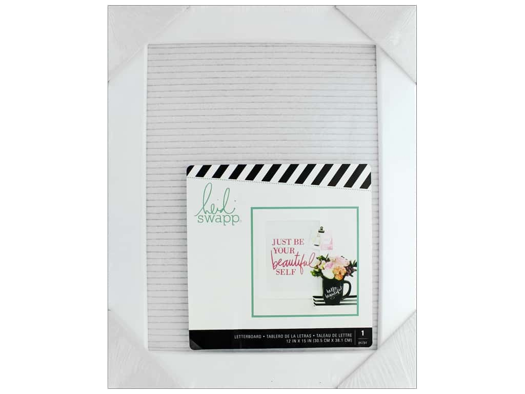 American Crafts Heidi Swapp Collection Letterboard Frame 12 in. x 15 in. Small