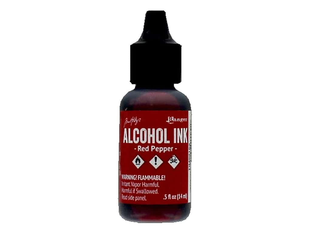 Tim Holtz Alcohol Ink by Ranger .5 oz. Red Pepper