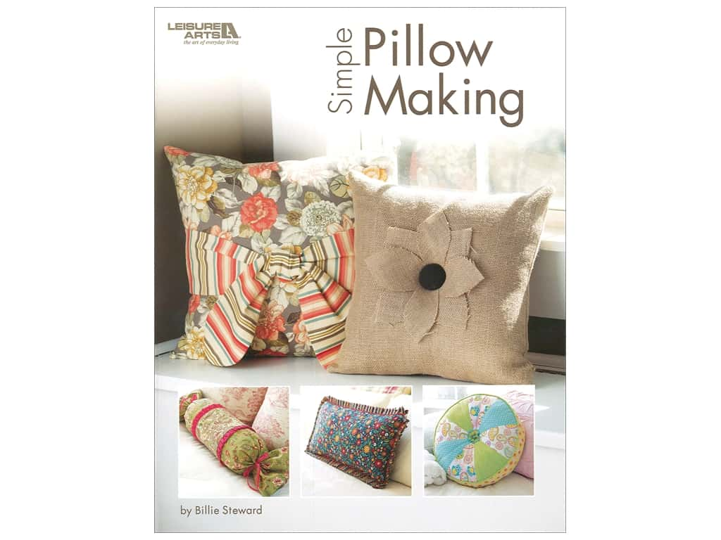 Leisure Arts Simple Pillow Making Book