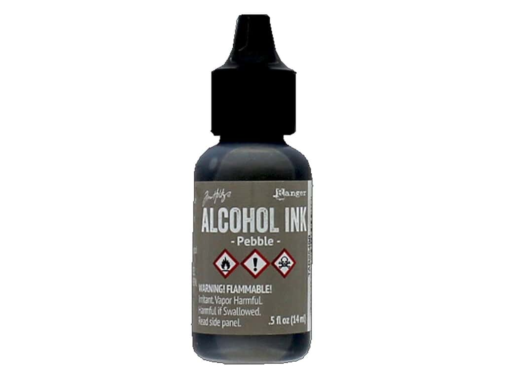 Tim Holtz Alcohol Ink by Ranger .5 oz. Pebble