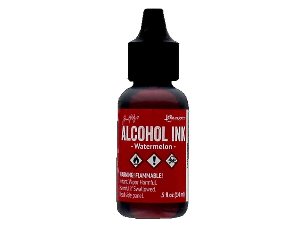 Tim Holtz Alcohol Ink by Ranger .5 oz. Watermelon