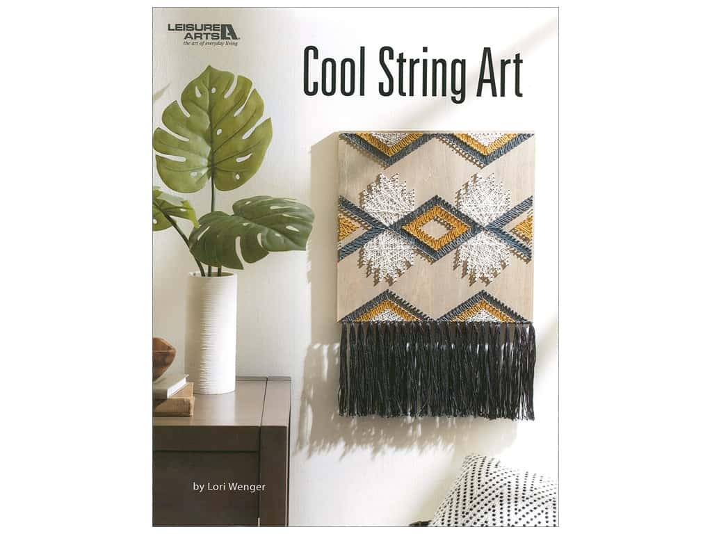 Leisure Arts Cool String Art Book