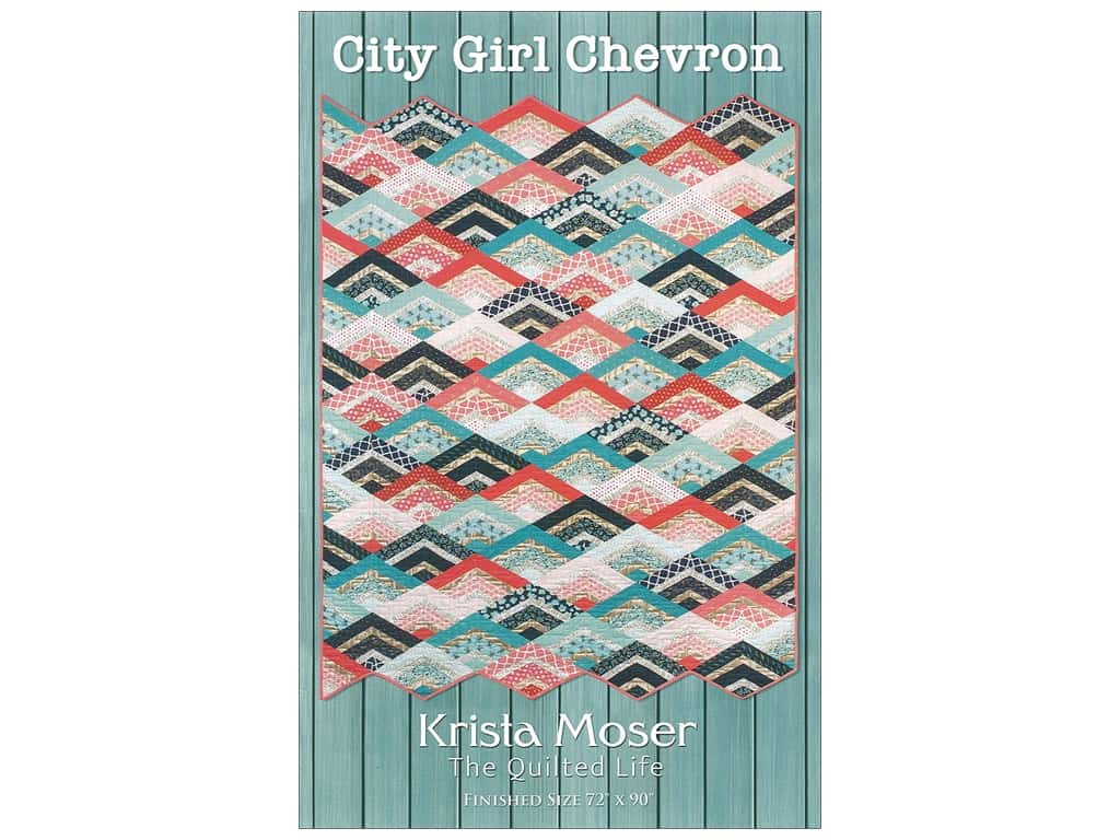 Krista Moser City Girl Chevron Pattern