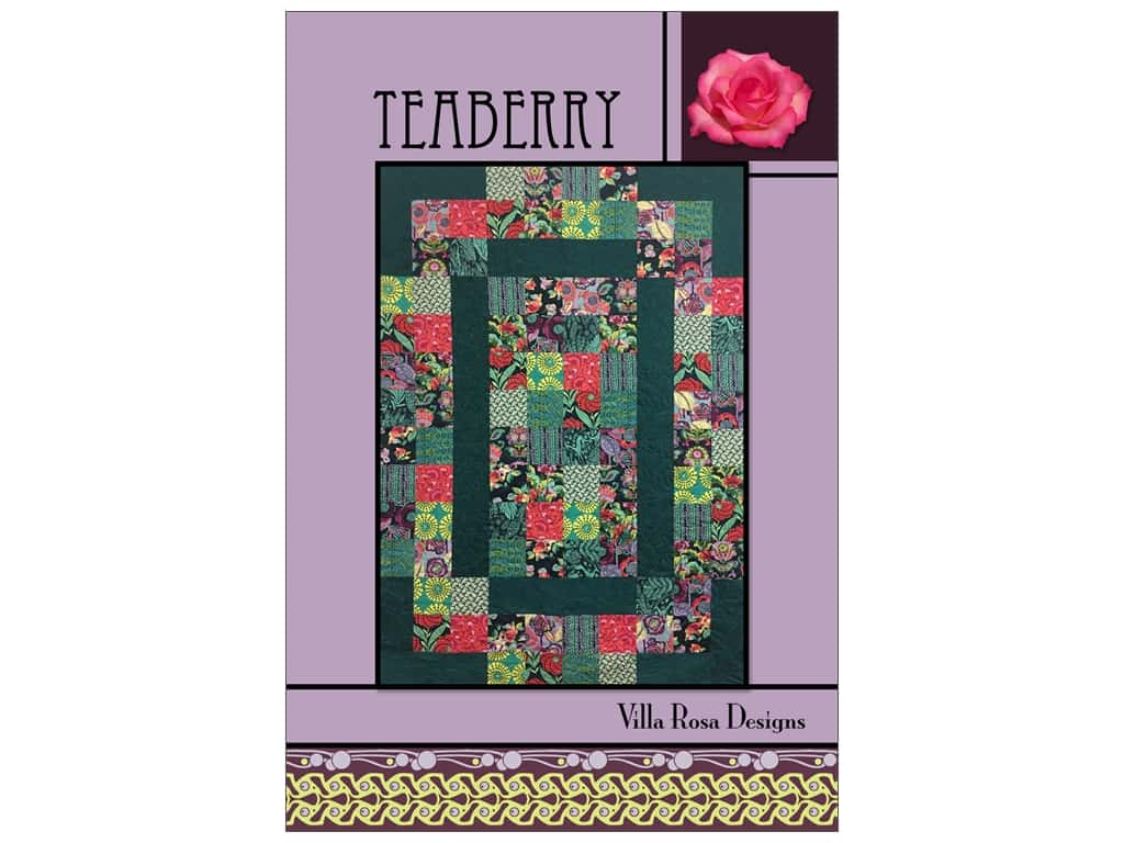 Villa Rosa Designs Teaberry Pattern Card