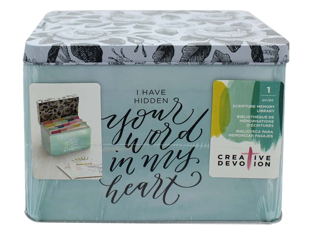 American Crafts Creative Devotion Scripture Memory Library