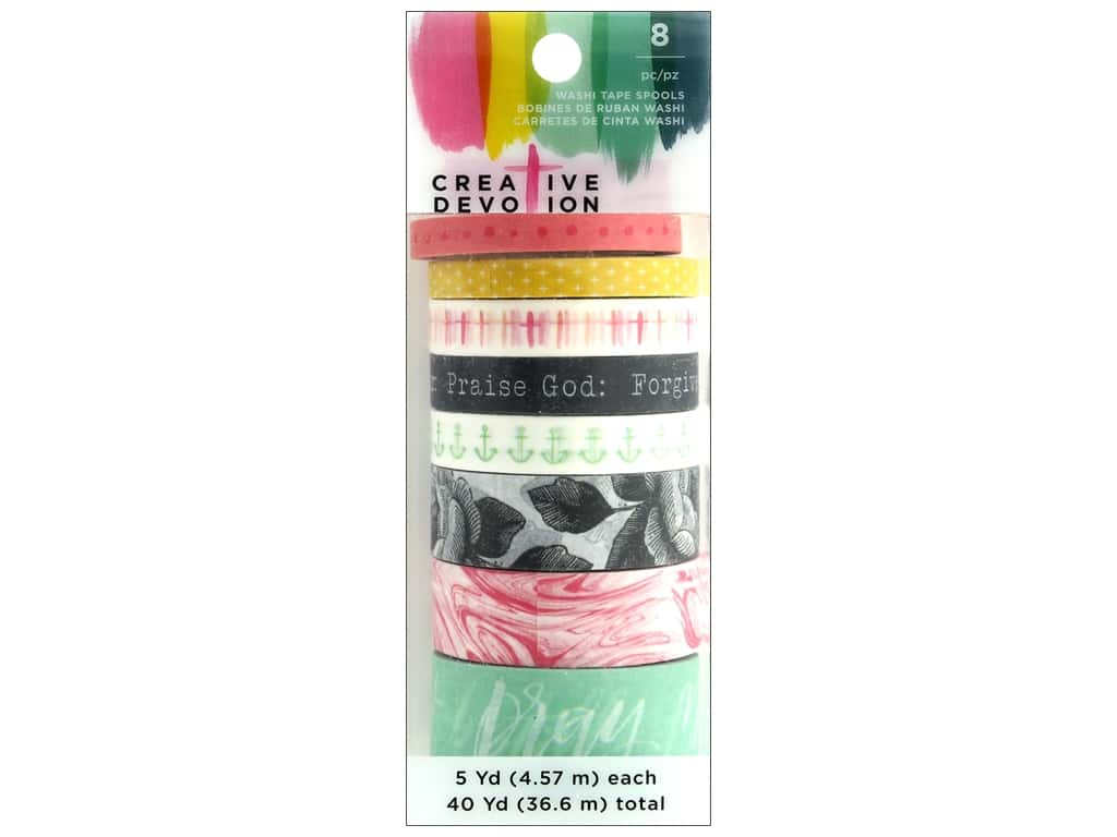 American Crafts Creative Devotion Washi Tape 1