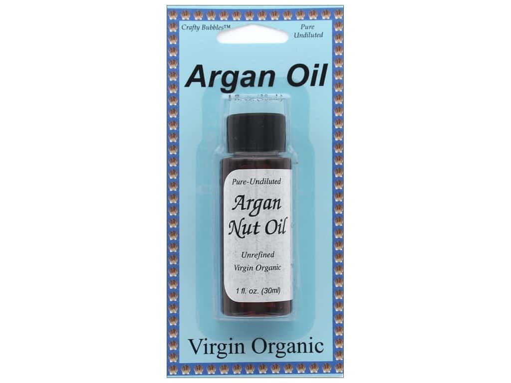 Crafty Bubbles Argan Nut Oil 1 oz