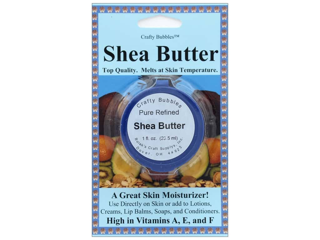Crafty Bubbles Accessories Shea Butter 1 oz