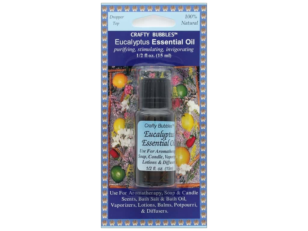 Crafty Bubbles Essential Oil .5 oz Eucalyptus