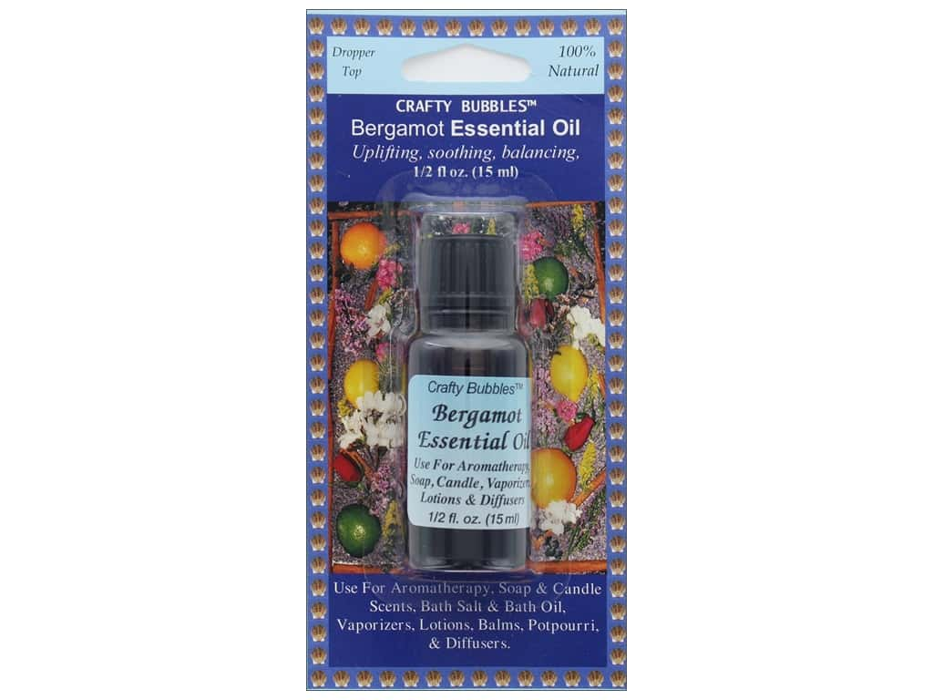 Crafty Bubbles Essential Oil .5 oz Bergamot