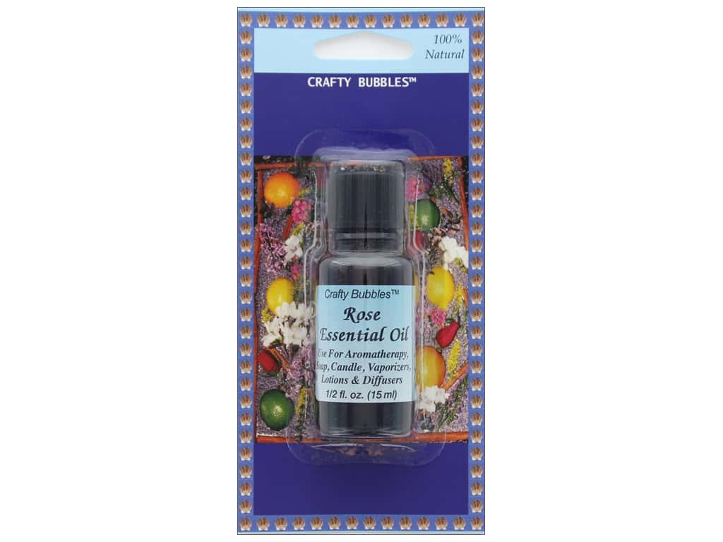 Crafty Bubbles Essential Oil .5 oz Rose