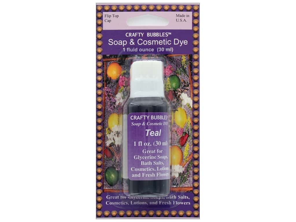 Crafty Bubbles Soap & Cosmetic Dye 1 oz Teal