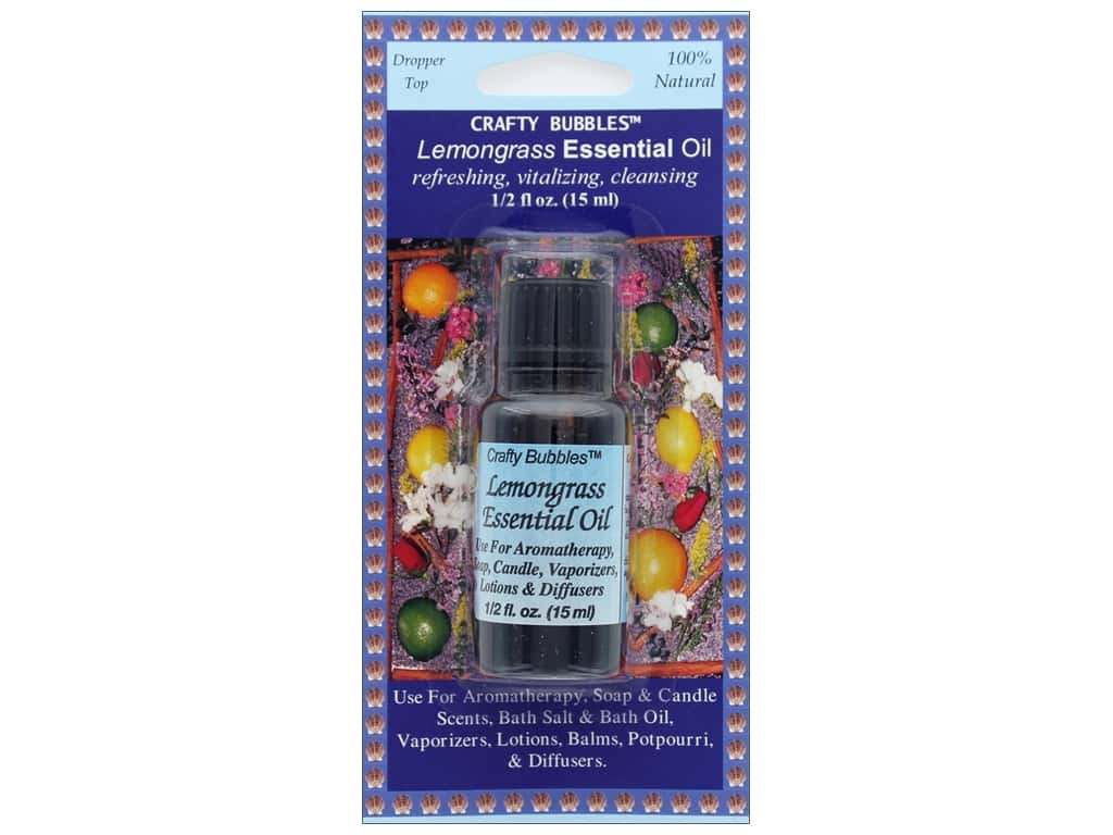 Crafty Bubbles Essential Oil .5 oz Lemongrass