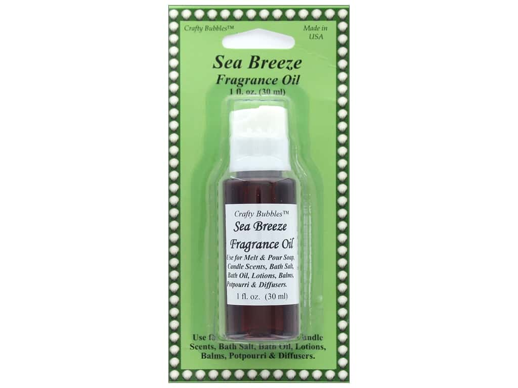 Crafty Bubbles Fragrance Oil 1 oz Sea Breeze