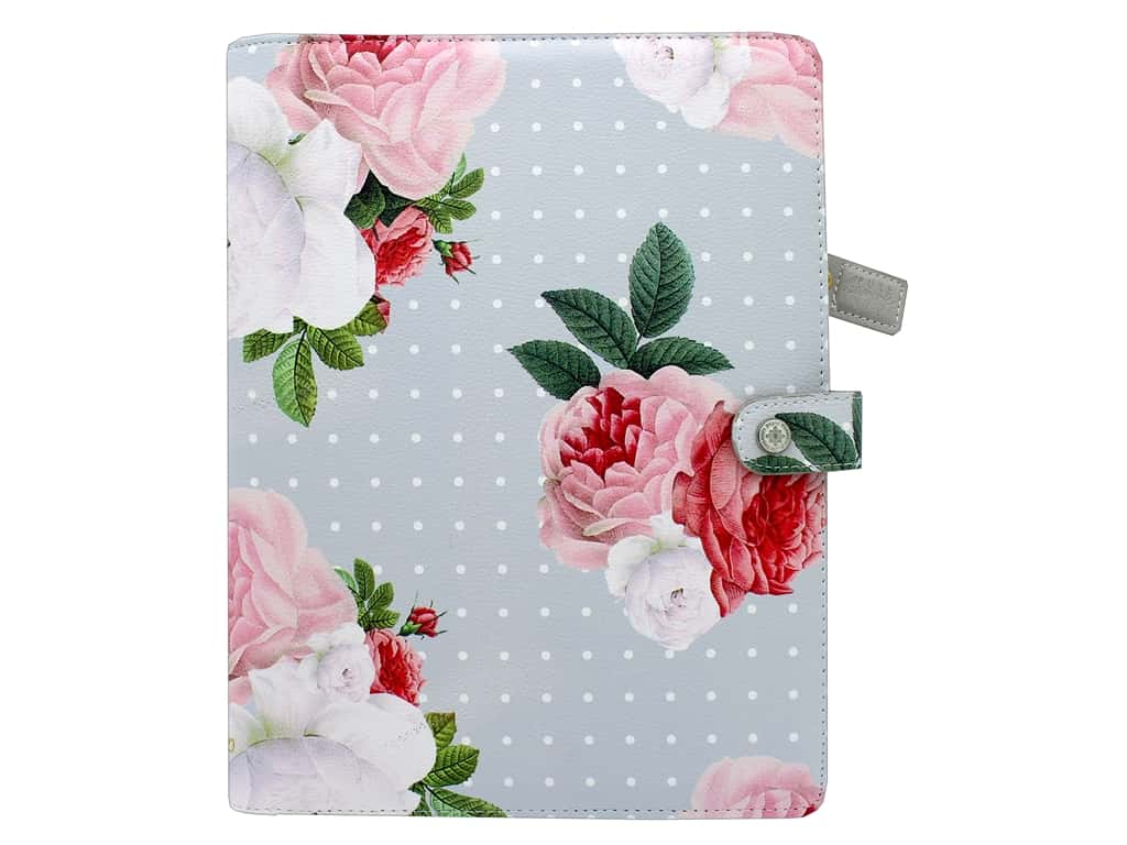 Webster's Pages Color Crush Planner Composition Grey Floral Book Wrap
