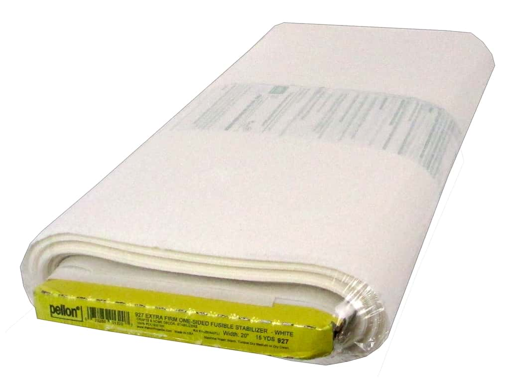 Pellon Stabilizer Extra Firm Fusible 20 in. x 15 yd White (15 yards)