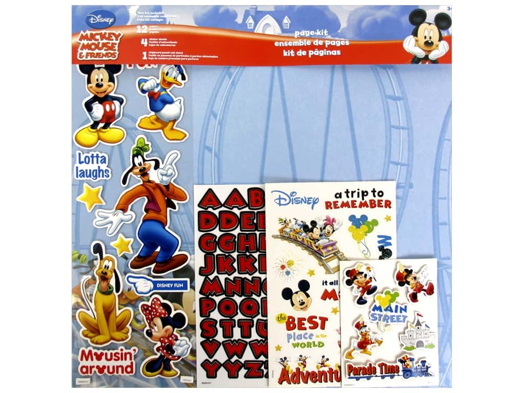 SandyLion 12 x 12 in. Page Kit Disney Mickey