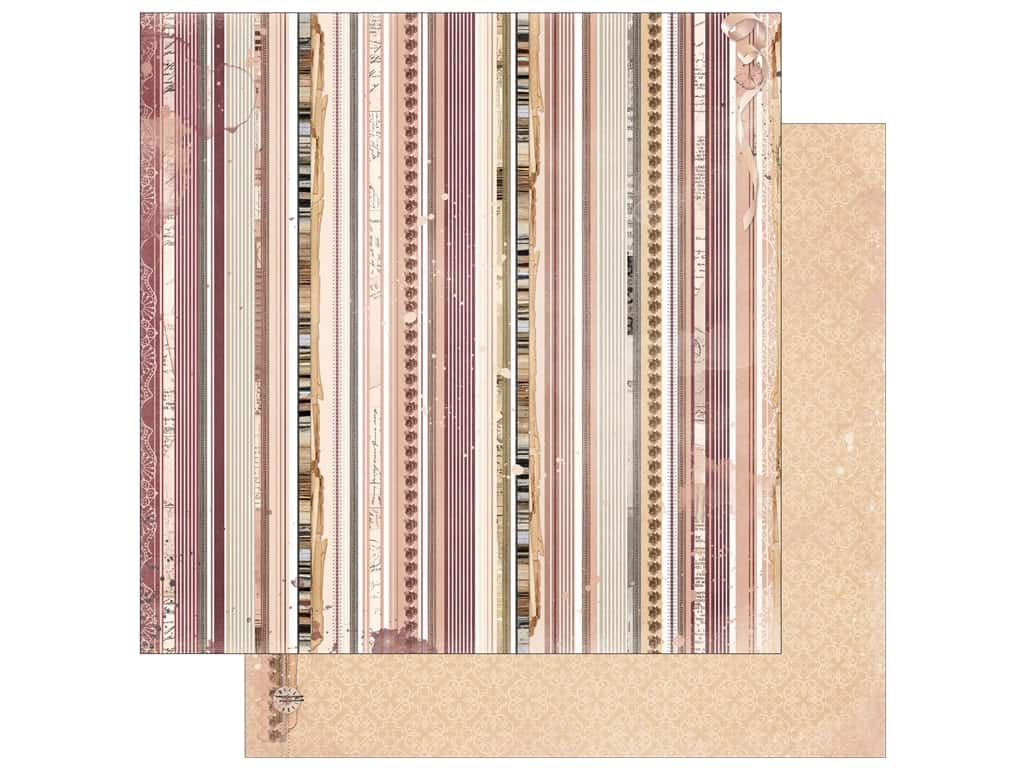 Bo Bunny Collection Charmed Paper 12 in. x 12 in. Wish (25 pieces)