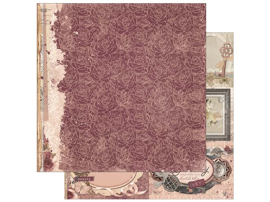 Bo Bunny Collection Charmed Paper 12 in. x 12 in. Petals (25 pieces)