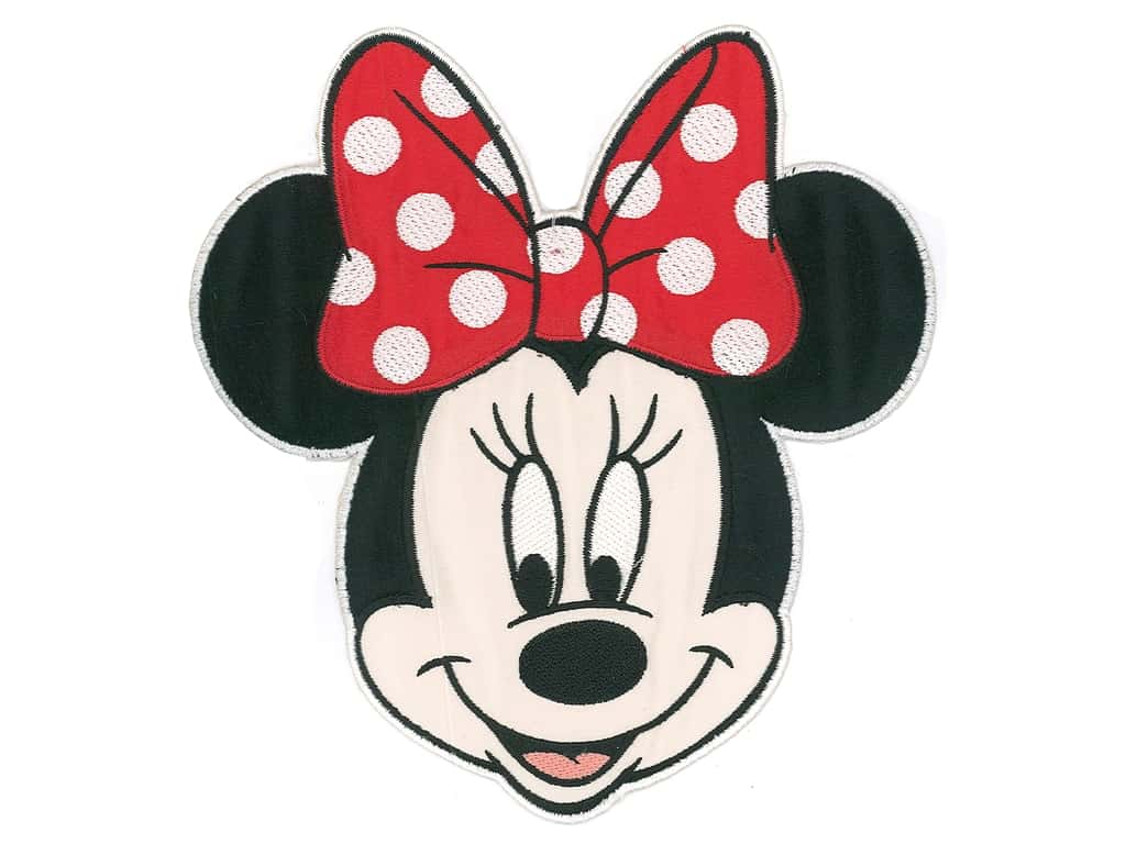 Simplicity Applique Disney Extra Large Minnie Head