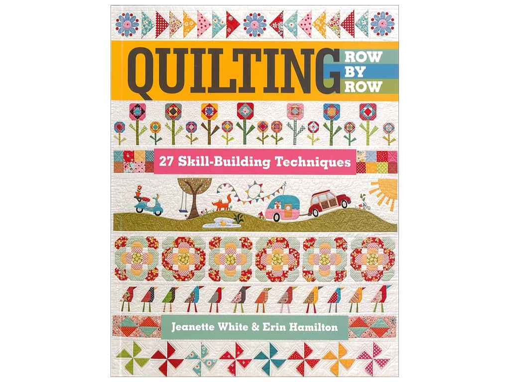 C&T Publishing Quilting Row by Row Book