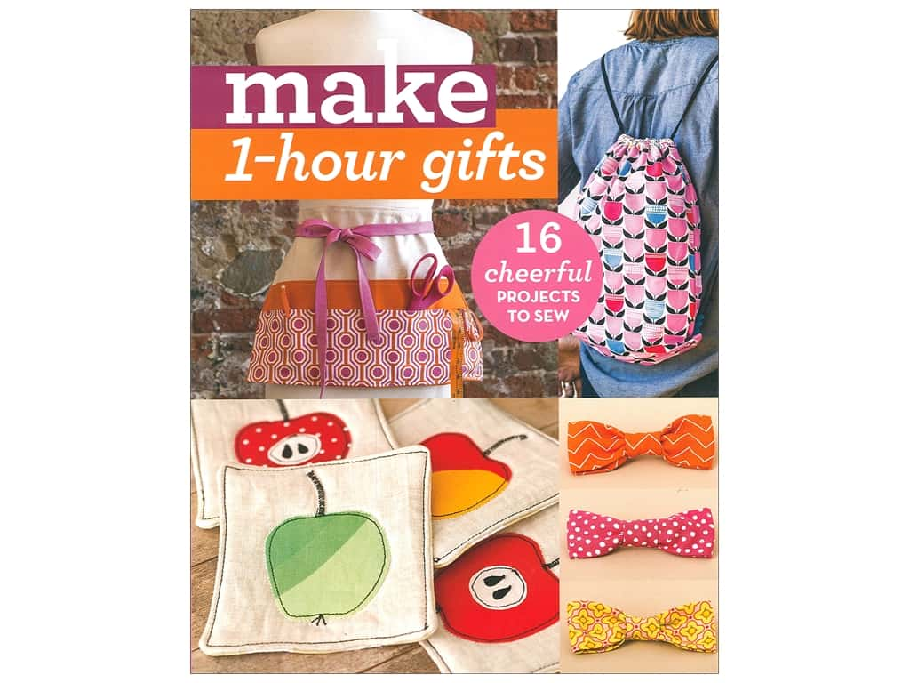 C&T Publishing Make 1 Hour Gifts Book