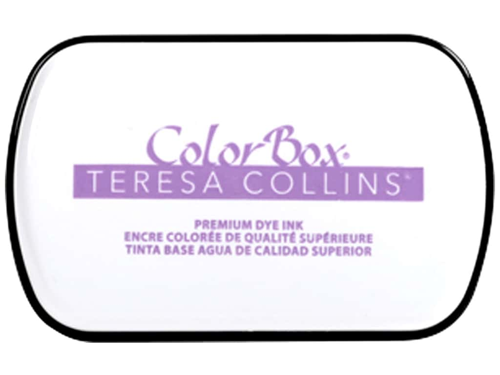 ColorBox Premium Dye Ink Pad Full Teresa Collins Project Purple