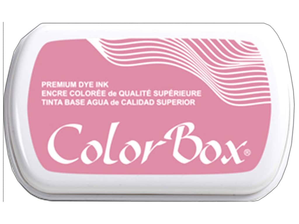 ColorBox Premium Dye Ink Pad Full Size Rose