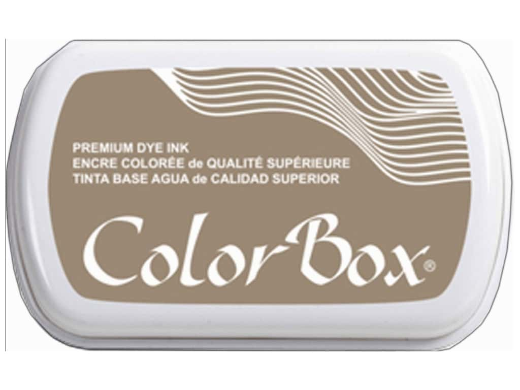 ColorBox Premium Dye Ink Pad Full Size Sandstone