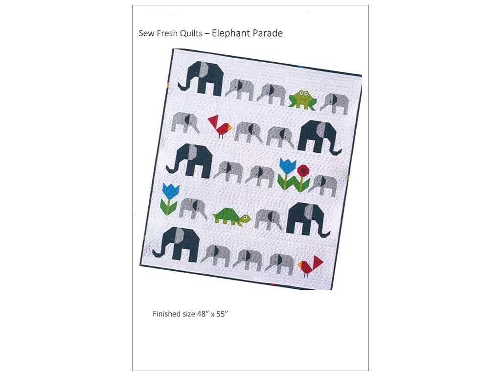 Sew Fresh Quilts Elephant Parade Pattern