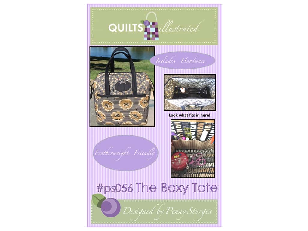 Quilts Illustrated The Boxy Tote Pattern
