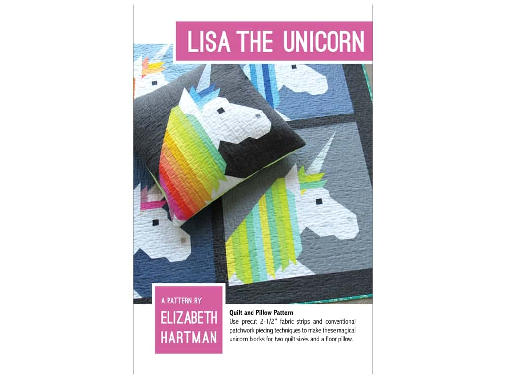 Elizabeth Hartman Lisa The Unicorn Pattern