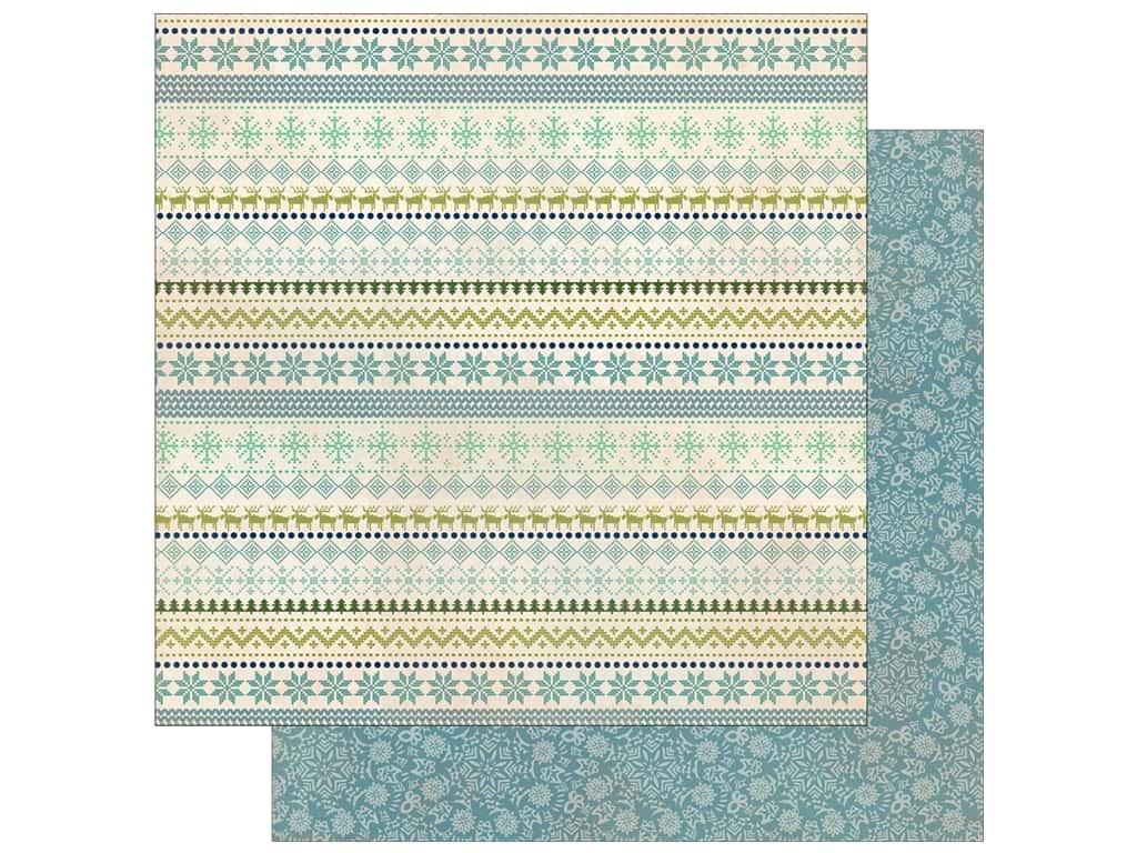 Authentique Collection Alpine Paper 12 in. x 12 in.  Five (25 pieces)