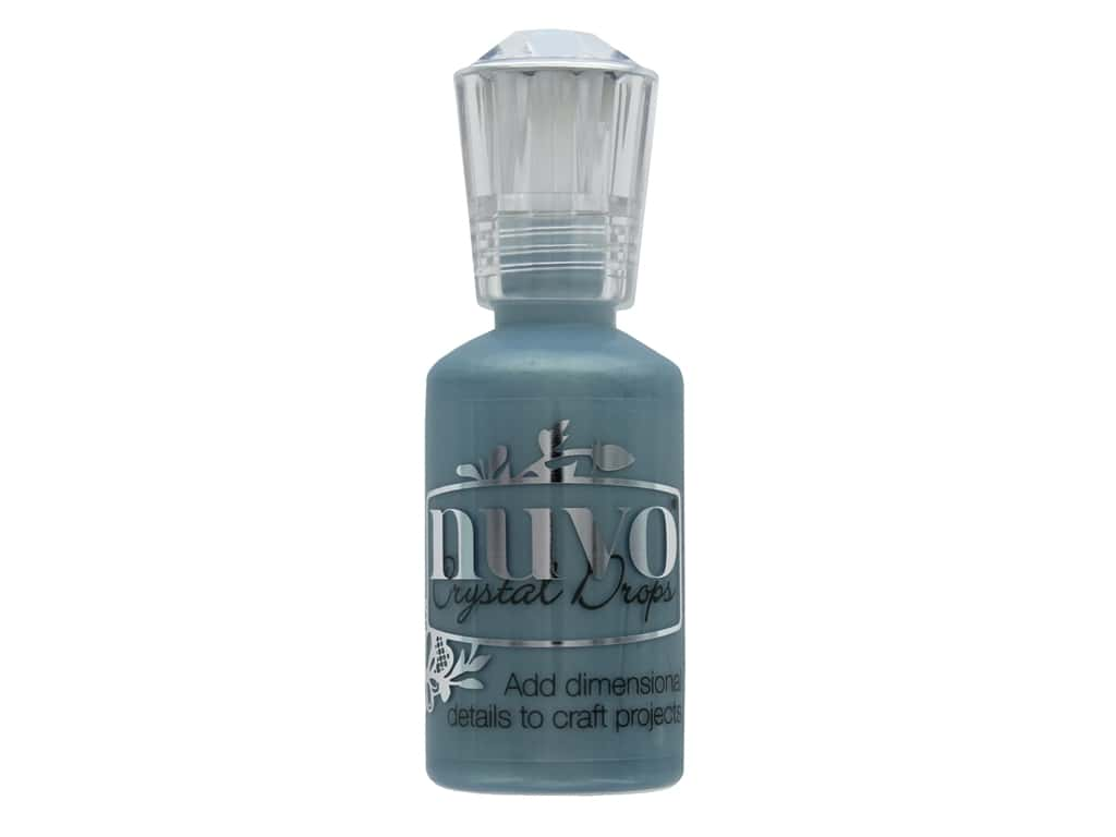 Nuvo Crystal Drops 1 oz. Wedgewood Blue