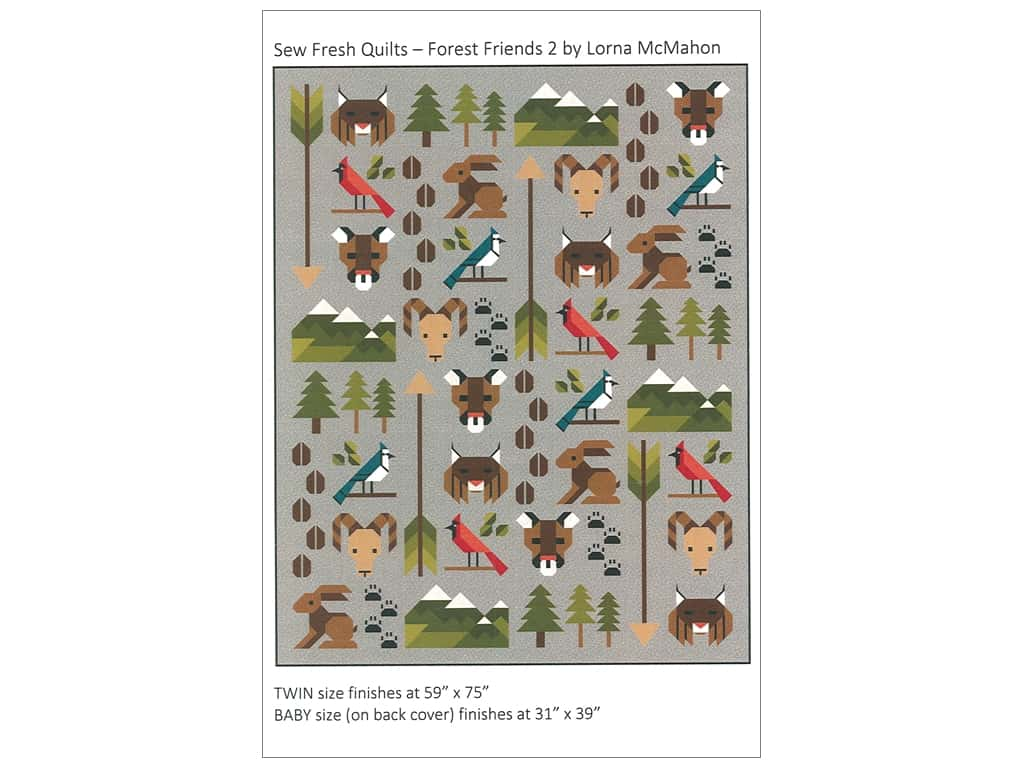Sew Fresh Quilts Forest Friends 2 Pattern