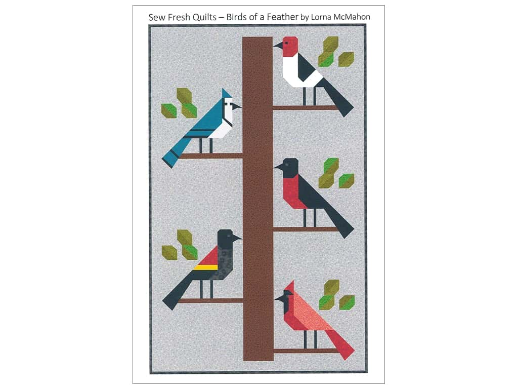 Sew Fresh Quilts Birds Of A Feather Pattern