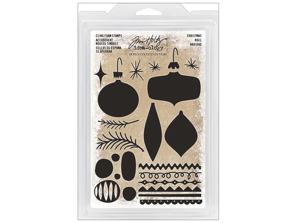 Tim Holtz Idea-ology Christmas Foam Stamp