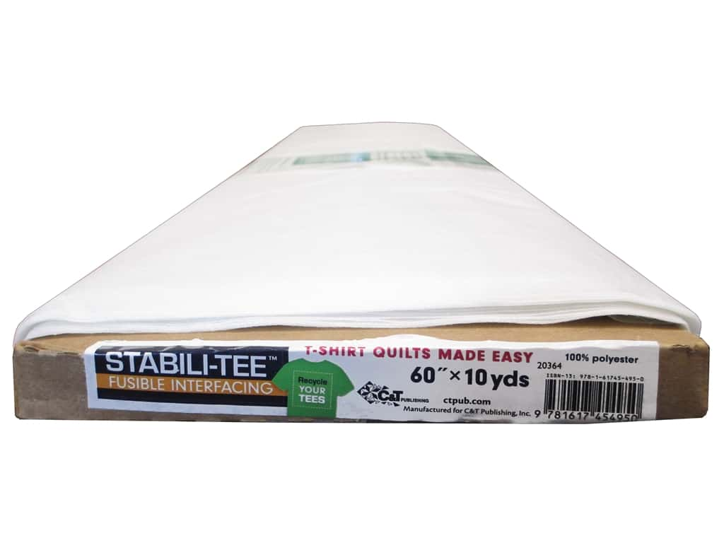 C&T Publishing Interfacing Stabili-TEE Fusible 60 in.  10 yd Bolt (10 yards)