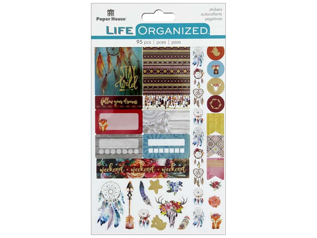 Paper House Life Organized Sticker Planner Free Spirit