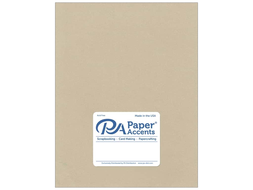 Paper Accents Cardstock 8 1/2 x 11 in. #8838C Pearlized Taupe 25 pc.