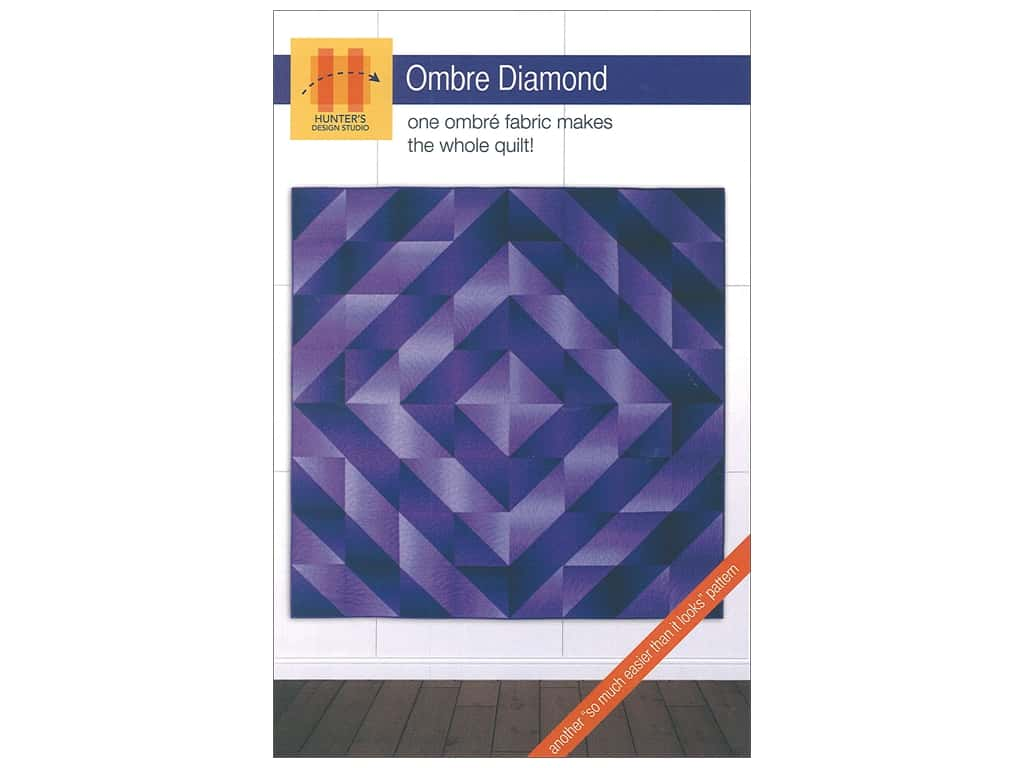 Hunter's Design Studio Ombre Diamond Pattern