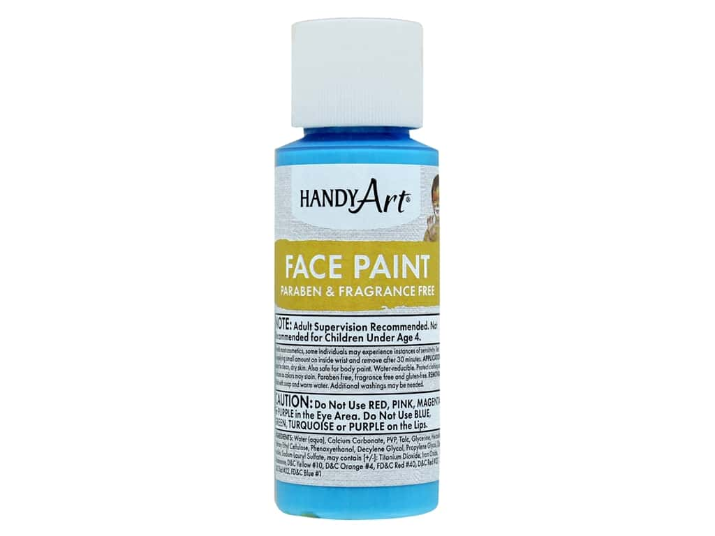 Handy Art Face Paint 2 oz Turquoise
