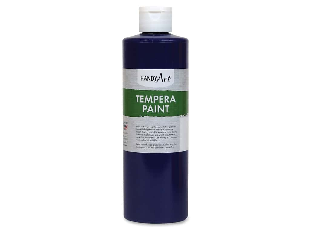 Handy Art Tempera Paint 16 oz. Violet