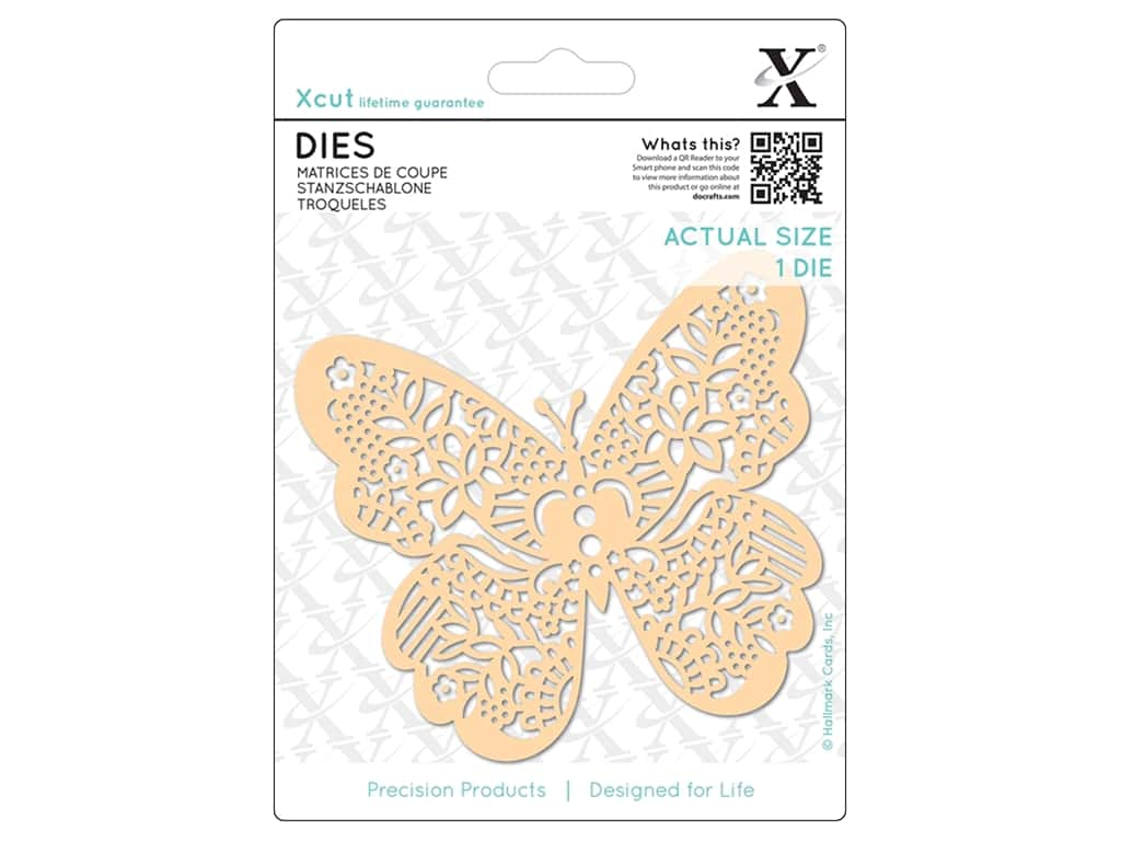 Docrafts Xcut Die Ornate Butterfly